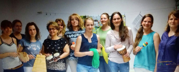 Teilnehmer des Fachvortrags mit dem Thema Rhythmus